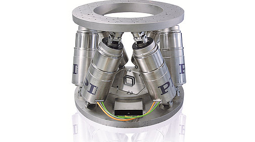 1-ton hexapod features 0.8 µm resolution