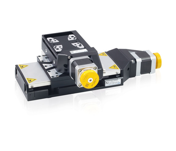 L-511 and L-509 precision stages can be combined without adapter plate for multi-axis positioning in several axes