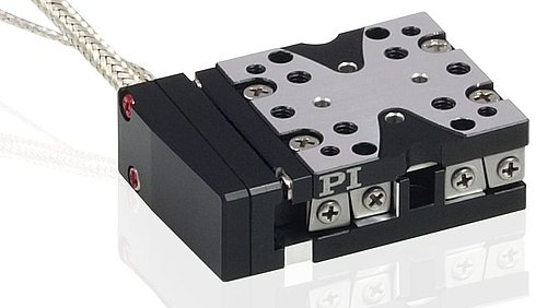 Q-522 Q-Motion® Miniature Linear Stage with Incremental Encoder with up to 1 nm resolution (optional)